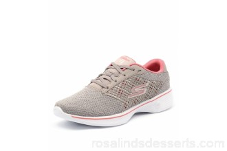 SKECHERS Women 14146 go walk 4 exceed taupe coral smooth Extra laces included New Skechers Goga Max™ insole for next generation cushioning and support SK10104-NQY-SM IJHSWDH