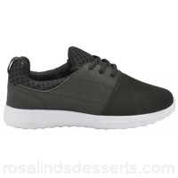 Women Dolcis - Black 'Rene' ladies lace up casual trainers Heel height 2.5cm Fastening lace PPZCDIF