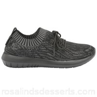 Women Gola - Black 'Evolve' ladies lace up sports trainers Fastening lace Upper breathable mesh TMIORLE